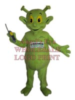 alien beings - Green Alien Mascot Costume factory custom extraterrestrial intelligence beings theme anime cosply costumes carnival fancy dress SW2955