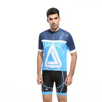 Wholesale Crew Neck Cycling Jersey Sets for Men Summer Compressed Short Sleeve Breathable Fitness Polyester Mens Bikes Clothes