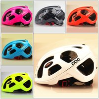Wholesale Hot Sale POC Raceday Road Bike Helmet Ultralight Cycling Bicycle Kits Capaceta de Bicicleta Helmet Casque Velo Large Colors cm