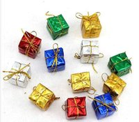 act product - Newest Christmas pendant Christmas products decorating the Christmas tree to hang act the role ofing is tasted Square small gift bag