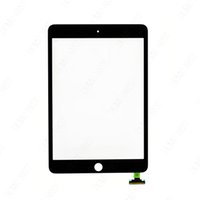Wholesale for iPad Mini Touch digitizer Screen Glass Panel with IC Connector Black and White