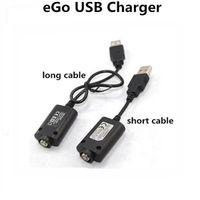 achat en gros de cig électronique x6-USB Chargeur Batterie e Cig Cigarette Mod Cigarette Electronique Chargeur USB Pour Ego t c Evod Tesla Vision Spinner X6 Snoop