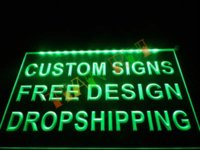 Wholesale Custom Design Your Own LED Neon Light Sign Bar Open Decor Crafts Dropshipping led t3