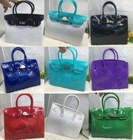 jelly bag - Smallwholesales Colors Fashion Lady Totes Bags Summer Beach Bag High Quality PVC Jelly Handbag Jelly Bags