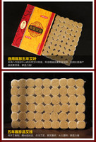 Wholesale 54 box best qualitymoxa stick roll moxibustion year old chinese mugwort stick Health care relieve pain mm mm