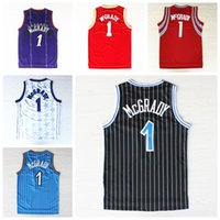 basketball uniform logos - Stitched Tracy McGrady T mac Jersey Throwback Shirt Uniforms Retro Team Road All collections jerseys Complete Logo brand Cheap