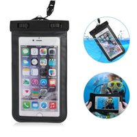 Wholesale Universal Waterproof Case CellPhone Dry Bag for iPhone6S Plus SE S Samsung Galaxy S7 for cell phone up to quot