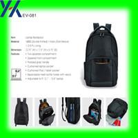 Populaire patch en caoutchouc homme d'affaires lblack l1680d nylon sac à dos pour ordinateur portable avec poche latérale filetée de xiamen atelier