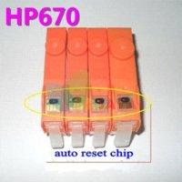 Wholesale HP670 refillable ink cartridge For HP Deskjet Ink Advantage printer CZ275A CZ282A CZ283A CZ284A with chips