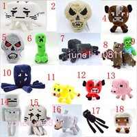 Wholesale Creep Plush Stuffed Figure Toy Animals Pig Plush Toys Enderman Plush Toys Stuffed Toy Sheep Plush Toy designs