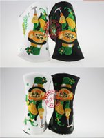 Wholesale New style fashion brand Golf headcover magic man headcovers top quality PU Golf headcover with colors putter headcover