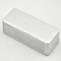 aluminium enclosures - 5Pcs A Guitar pedal stomp aluminium enclosure box Guitar Effect Pedal Box case