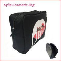 Wholesale Newest Kylie Jenner Makeup Bag Birthday Collection Cosmetic Bag Kylie Lip Kit Bag High Quality