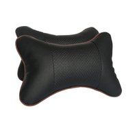 Wholesale 2pcs car neck pillow car auto headrest Car pillow space silk cotton car seat cover cushion cover car