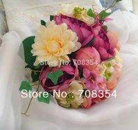 Cheap StyleNanda Bunte Blumen Hochzeit Werfen Bouquet Fotografie Requisiten Simulation Blume
