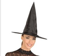 Wholesale halloween Black clok Witch Hat party women hat cosplay harry potter hat halloween costume festival hats