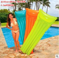 Wholesale Swimming board drifting row PVC inflatable water bed inflatable sport Adult supplies surfboard floating on the water