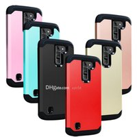 apples shock resistant - For lg k7 Cases Impact Rugged Armor TPU PC bybrid Stylo Case Shock Proof Cover Samsung galaxy note7 s7 edge lg g5 iphone s plus cases