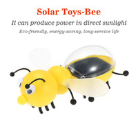 bee packages - Solar Toy Cute Bee Solar Powered Energy Robot Toys For Children Kids Educational Toys Gift Retail Package