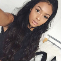Wholesale Body Wave Brazilian A Virgin Human Full Lace Wigs With Baby Hair Wavy Lace Front Wig For Black Woman Full Lace Wig