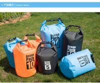 Wholesale 2016 Newest Waterproof Bag Storage Dry Bag for Canoe Kayak Rafting Sports Outdoor Boating Camping Travel Kit Drifting Waterproof storage Bag