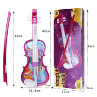 Wholesale Children s educational enlightenment music toys Touch the ring can play eight violin children s toys Toy Musical Instrument