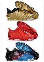 ankle shoes online - Popular Soccer Shoes X Purechaos Firm Ground Cleats Cheap Football Boots High Ankle Soccer Cleats Mens FG AG low cost online sale
