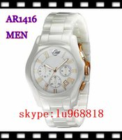 best free dates - TOP QUALITY BEST PRICE Lovers AR1416 AR1417 CERAMIC CHRONOGRAPH WATCH Original box Certificate