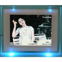backlight photo frame - 2015 Koolertron New inch Digital x600 HD Photo Frame Digital Support SD USB2 USB1 MMC MS With Backlight And Slide Show