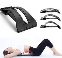 Wholesale Back Massage Magic Stretcher Fitness Equipment Stretch Relax Mate Stretcher Lumbar Support Spine Pain Relief Chiropractic