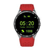 android google voice - KW88 Smart Watch Android G WIFI BT Google Voice GPS SIM Camera Heart Rate