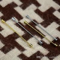Wholesale Smart Men s Cylindrical Collar Pin Gentlemen s Favor C00241 OSTH