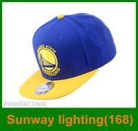 Wholesale 2016 Hot sale Baseball hats basketball sports baseball caps adjustable size blue white Hip hop enjoy yourself