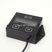 Wholesale LCD Display Digital Engine Tachometer Tacho Gauge Hour Meter For Motorcycle Boat Engines or stroke