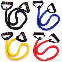 Wholesale New Fitness Bands Yoga Hanging Training Strap Tension Pull Rope Fitness Elastic Rope Strength Training Class Suit Latex Rally