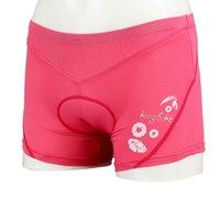 Wholesale Hot Sale Women Sports Shorts Beauty Outdoor Cycling Underwear D Sponge Pad Bicycle Biking Cycling Shorts Pants