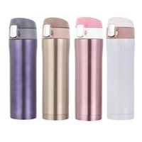 Wholesale 500ml India Home Kitchen Thermoses Stainless Steel Insulated Thermos Cup Coffee Mug Travel Drink Bottle Garrafa Termica Thermo Mug