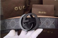 Wholesale 2016 fashion classic buckle belt with box designer belts men high quality new mens belts luxury