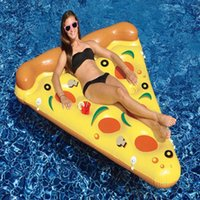 Wholesale Adult Water Inflatable Tube Super Light Safety Infant Beach Swimming Pizza Float Inflatable Tubes JF0021 smileseller