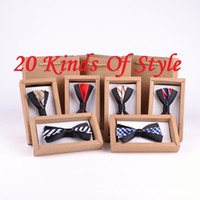 Wholesale style The new high end leisure bow ties Formal wedding the groom s best man bowtie not include box