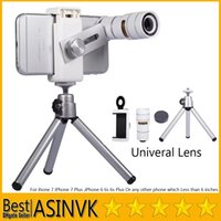 Wholesale For iPhone Plus iPhone iPhone S Plus Samsung Galaxy S7 S7 Edge Magnification X Universal Camera Telescope Lens Kit