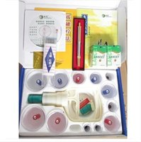 Wholesale Chinese cupping therapy set with pc lancet pen and needles
