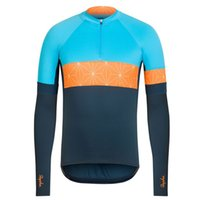Wholesale New Designer Cycle Wear Blue Road Bike Rapha Cycling Clothing Winter Thermal Fleece Bicycle Clothing Size XS
