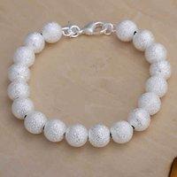 Cheap Wholesale Promotion! Free Shipping Bracelet, 925 Silver Fashion 10mm Beads Wood Lokai Buddha Bracelet Mud H075 Shamballa Lobster Jewelry