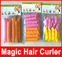 Wholesale Amazing Magic Leverag Hair Curlers Curlformers Hair Roller Hair Styling cm cm cm cm long Tools In Stock