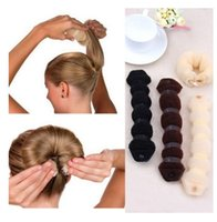 appetizer meatballs - Spot large meatball appetizers hair hair Shengpi tendons snap nylon hair tress hot buns button bar big size cm