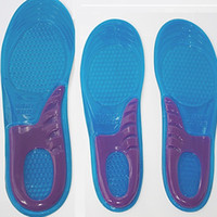amazing running - anti shock Amazing Man SIZE Sports Massaging Silicone Gel Insoles Arch Support Orthopedic Plantar Fasciitis Running Insole For shoes H001