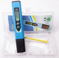 Wholesale by dhl fedex Digital Hardness Tester TDS Meter Aquarium Pool Hydroponic Water Gauge ppm monitor