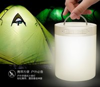 aux lamp - New Smart Touch LED Lamp Speaker Mini Portable Outdoor Sports Wireless Bluetooth Speakers Table Atmosphere Light Handsfree SD AUX MP3 Player