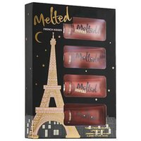 kiss - Melted French Kisses Liquified Long Wear Lipstick pc Gift Set Kit